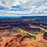 Canyon Country Print by Chad Dutson