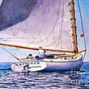 Cape Cod Catboat Print by Karol Wyckoff