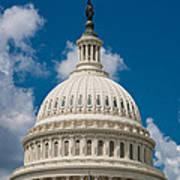 Capital Dome Washington D C Print by Steve Gadomski