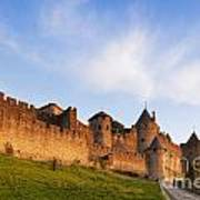 Carcassonne Languedoc Roussillon France Print by Colin and Linda McKie