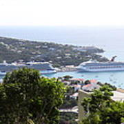 Caribbean Cruise - St Thomas - 1212268 Print by DC Photographer