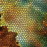 Carina Nebula Mosaic  Print by The  Vault - Jennifer Rondinelli Reilly