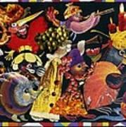 Carnival Print by Nekoda  Singer