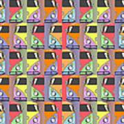 Cars Abstract  Print by Mark Ashkenazi