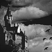 Castle In The Sky Print by Bob Orsillo