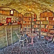 Castle Map Room Print by Susan Candelario