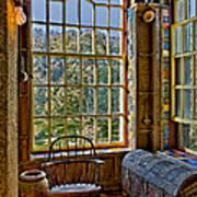 Castle Office Print by Susan Candelario