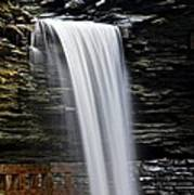 Cavern Cascade Print by Frozen in Time Fine Art Photography