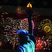 Celebrate America Print by Simon Wolter
