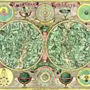 Celestial Map Print by Gary Grayson