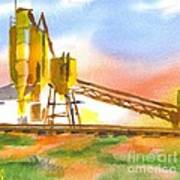 Cement Plant II Print by Kip DeVore