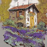 Cento Lavande Print by Guido Borelli