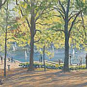 Central Park New York Print by Julian Barrow