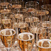 Champagne 02 Print by Rick Piper Photography