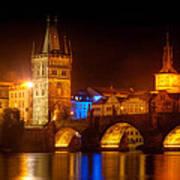 Charles Bridge II- Prague Print by John Galbo