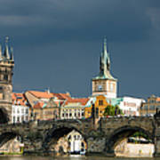 Charles Bridge Prague Print by Matthias Hauser