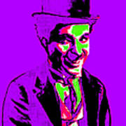 Charlie Chaplin 20130212m78 Print by Wingsdomain Art and Photography