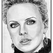 Charlize Theron In 2008 Print by J McCombie