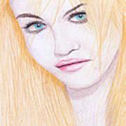Charlotte Free Print by M Valeriano