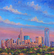 Charlotte Skies Print by Jeff Pittman