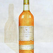 Chateau D Yquem Print by Lincoln Seligman