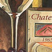 Chateux 1965 Print by Debbie DeWitt