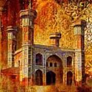 Chauburji Gate Print by Catf