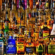 Cheers - Alcohol Galore Print by David Patterson