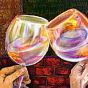 Cheers Print by Debi Starr