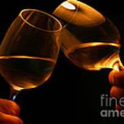 Cheers Print by Patricia Hofmeester