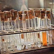 Chemist - Specimen Print by Mike Savad