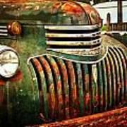 Chevy Truck Print by Marty Koch
