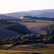 Chianti Hills In Tuscany Print by Mathew Lodge