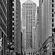 Chicago Board Of Trade Print by Christine Till