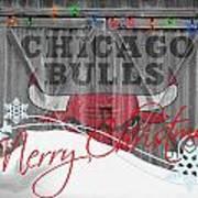 Chicago Bulls Print by Joe Hamilton