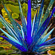 Chihuly Lily Pond Print by Diana Powell
