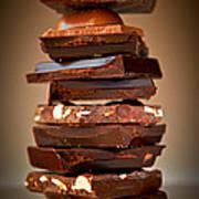 Chocolate Print by Elena Elisseeva