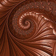 Chocolate  Print by Heidi Smith