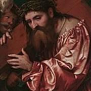 Christ Carrying The Cross Print by Girolamo Romanino