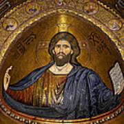 Christ Pantocrator Mosaic Print by RicardMN Photography