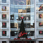 Christmas At San Francisco Macy's Department Store - 5d20550 Print by Wingsdomain Art and Photography