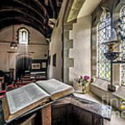 Church Chronicles Print by Adrian Evans