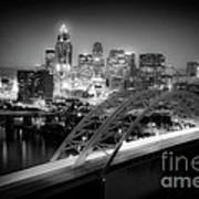 Cincinnati A New Perspective Print by Kimberly Nickoson