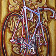 Cinelli Laser Bicycle Print by Mark Howard Jones
