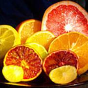Citrus Season Print by Anastasia Savage Ealy