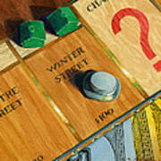 City Island Monopoly Iv Print by Marguerite Chadwick-Juner