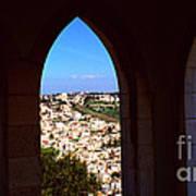 City Of Nazareth Print by Thomas R Fletcher