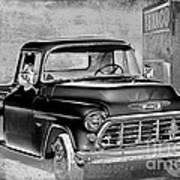 Classic Ride Print by Betty LaRue
