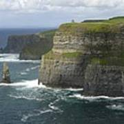 Cliffs Of Moher 2 Print by Mike McGlothlen