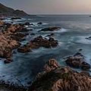 Coastal Tranquility Print by Mike Reid